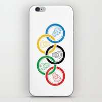 sports iPhone & iPod Skins featuring sports drink by Jordan Horstman