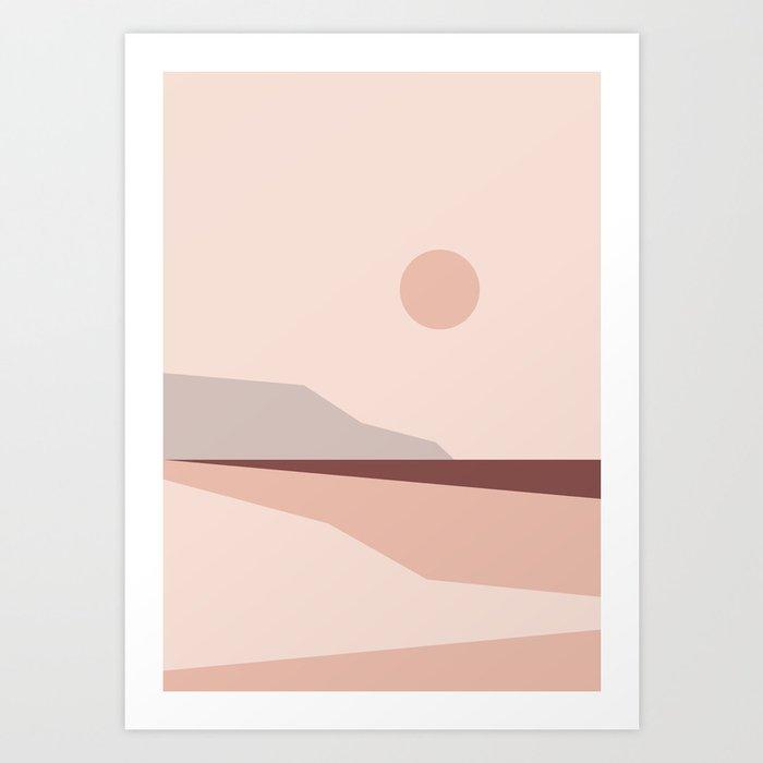 Abstract Landscape 02 Art Print