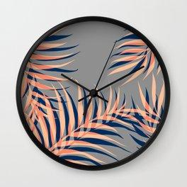 Palms Vision II #society6 #decor #buyart Wall Clock