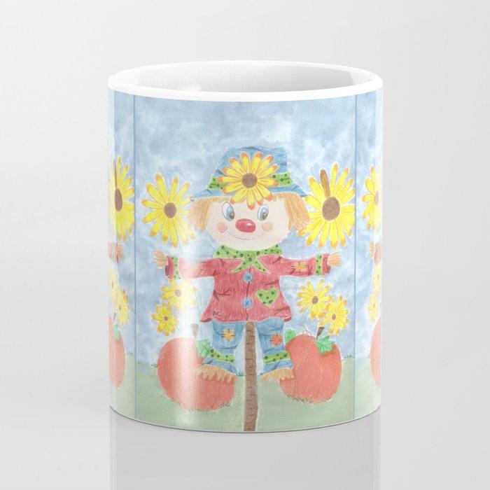 Fall scarecrow Coffee Mug
