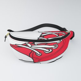 big red shoe Fanny Pack