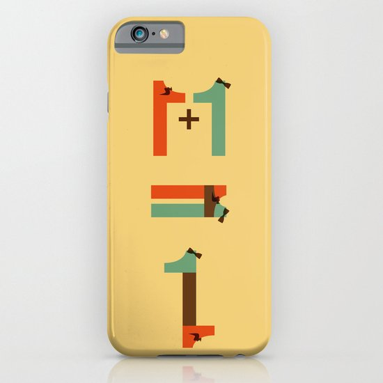 1 plus 1 iPhone & iPod Case