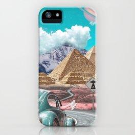 Illusionary Journey iPhone Case