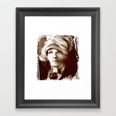 Haiti Portraits / 06 / series /1 Framed Art Print