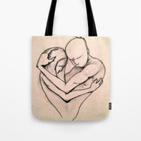 return Tote Bags featuring The Return by Kasey Randall