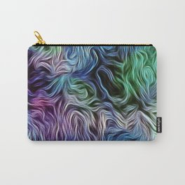 Turquoise Of Pastel Carry-All Pouch