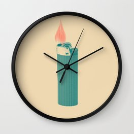 More Fire Wall Clock