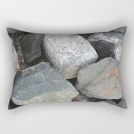 Texture #11 Stone Rectangular Pillow
