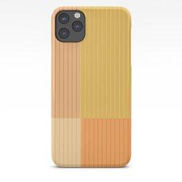 Color Block Lines IV iPhone Case