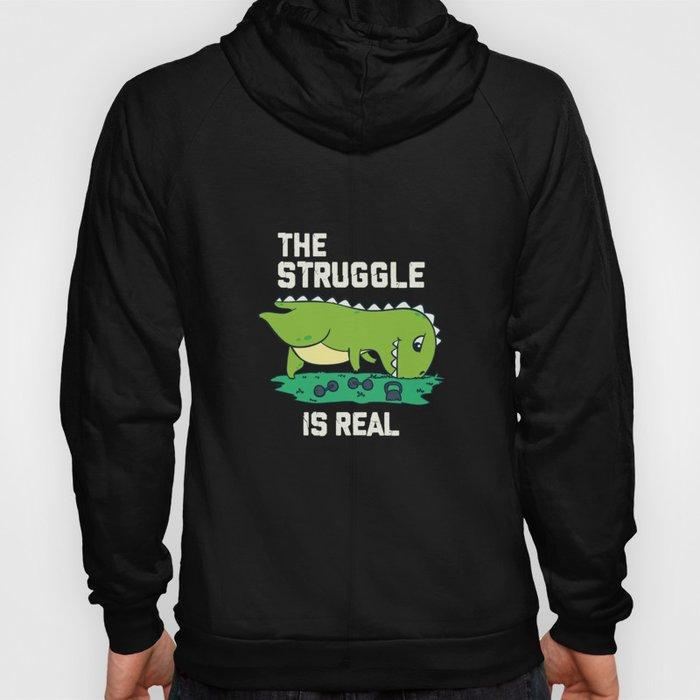 T-Rex hates pushups  Hoody