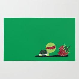 Strawberry Turtle Rug