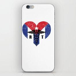 Cuba Radiology Tech Cuban Flag Love iPhone Skin
