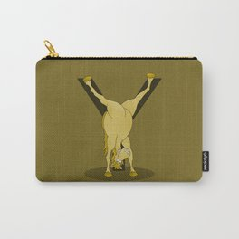 Monogram Y Pony Carry-All Pouch