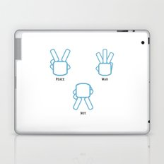 Peace Not War Laptop & iPad Skin