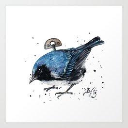 Wind Up Mini LXX Art Print