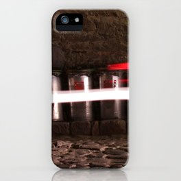 Trash cans iPhone Case