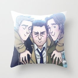Team Free Will Throw Pillow