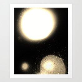 Space Orb X Art Print