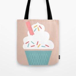 Ice Cream (Peach) Tote Bag