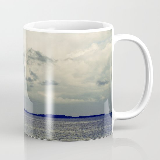 Clouds on the water... Mug