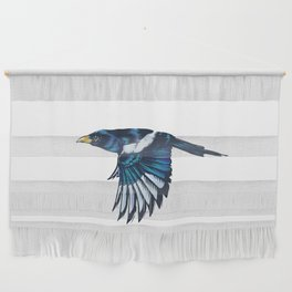 Yellow-billed Magpie Wall Hanging