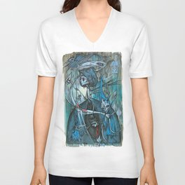 exiled archangels Unisex V-Neck