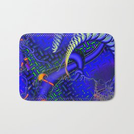Tricky Bugger 3D Psychedelic Bath Mat