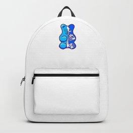 Blue Gummy Bear Anatomy Backpack