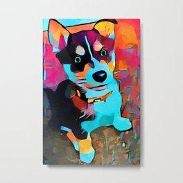 Husky 3 Metal Print