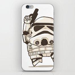 Fat Wars Stormtrooper iPhone Skin