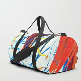Static Waves Duffle Bag