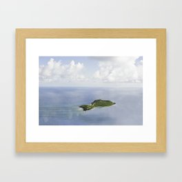 Tiny Island, Caribbean 2011 Framed Art Print