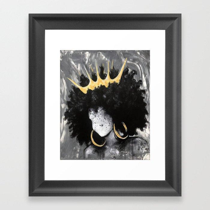 Naturally Queen III Gerahmter Kunstdruck