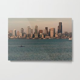 Kakayers in the Puget Sound Near Seattle Metal Print
