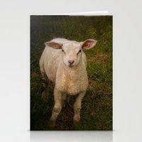 lamb Stationery Cards featuring Lamb by Guna Andersone & Mario Raats - G&M Studi