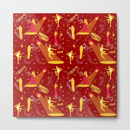 Musician Dancer Art Performer Life Metal Print