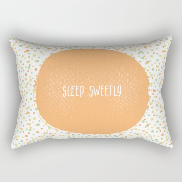 Sleep Sweetly Rectangular Pillow