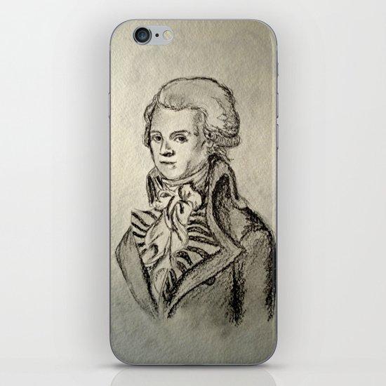 French Sketch I iPhone & iPod Skin