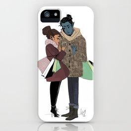 Ronnie and Elia iPhone Case