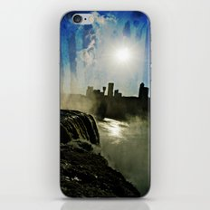 Niagara Creepy Falls  iPhone & iPod Skin