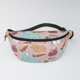 Bunnies and carrots Fanny Pack