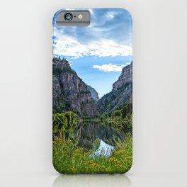 Beautiful Glenwood Canyon iPhone Case