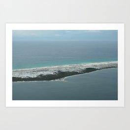 Barrier Island Art Print