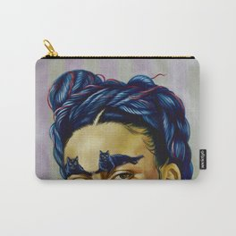 Frida Kat-lo Carry-All Pouch