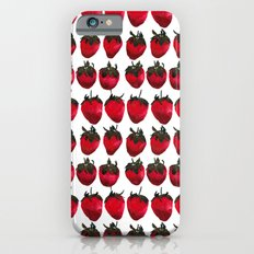 little strawberries iPhone 6s Slim Case