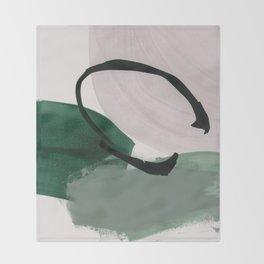 minimalist painting 01 Throw Blanket