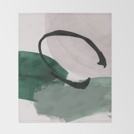 minimalist painting 01 Throw Blanket