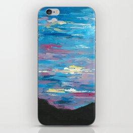 Sunset, Multi-Color Sky Painting iPhone Skin