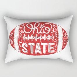 Ohio State Football Rectangular Pillow