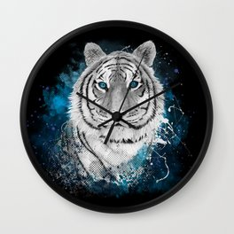 Tiger, don't stop...BE strong Wall Clock